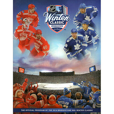 2014 Winter Classic Toronto Maple Leafs Detroit Red Wings Official Program NHL