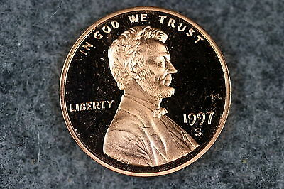 ESTATE FIND 1997-S Proof Lincoln Memorial Cent!! #P