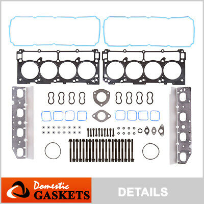 09-12 Chrysler Dodge Jeep Ram 5.7L HEMI V8 OHV MLS Head Gasket Bolts Set VIN T