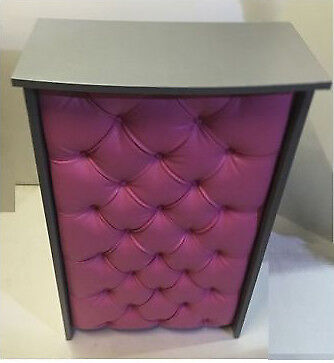 Hair & Beauty Salon Shop Reception Desk - Padded Front in Leather