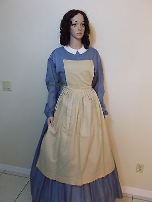 Pinner Aprons* Civil War Women Lady Reenactor Sass Victorian Dress Clothing 1862