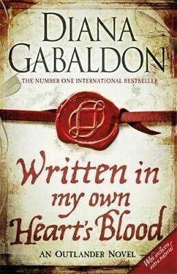 NEW Written in My Own Heart's Blood By Diana Gabaldon Paperback Free Shipping