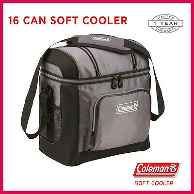 Coleman Esky 16 Can Soft Bag Cooler Chiller Portable Picnic Camping