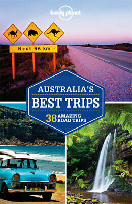 NEW Australia's Best Trips - Road Trips By Lonely Planet Travel Guide Paperback