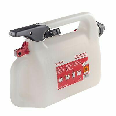 Pitking Products Pit/Paddock/Race/Motorsport 6 Litre Rapid Fill Petrol/Fuel Can
