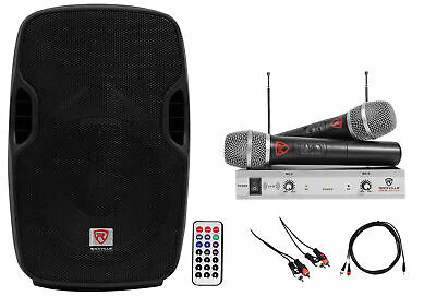 "Rockville Powered 10"" Karaoke Pro Machine/System 4 ipad/iphone/Android/Laptop/TV"