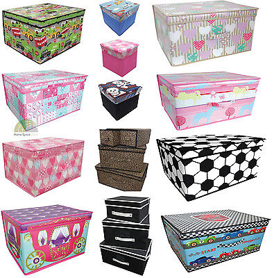Boys & Girls Storage Toy Box Chest Tidy - Children Kids Large Small NEW