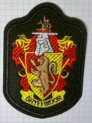 Harry Potter Gryffindor Embroidered Iron On Patch 10 x 7 cm
