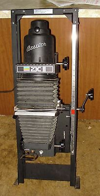 Beseler 23C II Silver Anniversary Edition Photo Enlarger USED - NO WOOD BASE