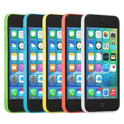 Apple iPhone 5c Smartphone (Choose AT&T Sprint GSM Unlocked Verizon or T-Mobile)