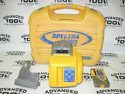 Trimble Spectra Precision LL400 Rotary Laser w/ HR550 Receiver Sensor FREE Case