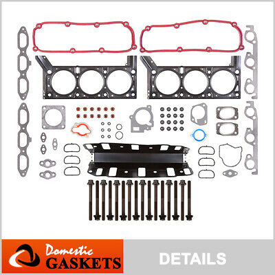 04-10 Chrysler Town&Country Dodge Grand Caravan 3.8L OHV Head Gasket Bolts Set