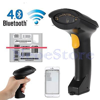 Bluetooth 4.0 Wireless Laser Barcode Scanner For Apple IOS iPad Air/mini iPhone