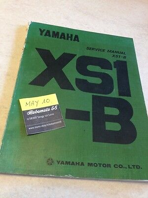 Yamaha XS650 B XS 650 650XS XS1-B XS1 manuel atelier workshop manual éd. 70