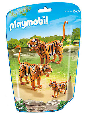 Playmobil - City Life - 6645 - 2 Tiger mit Baby - NEU OVP