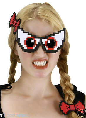 Pixel-8 Eyes Set Glasses Pixel Glasses Pixelated Eyeglasses SALE 335931