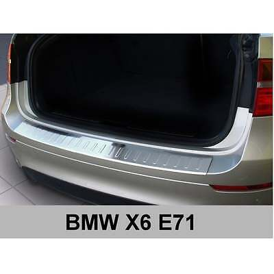DCP Stainless steel rear bumper protector for BMW X6 (E71) 2008-2012
