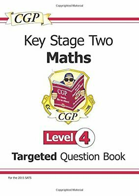 KS2 Maths Question Book: Level 4 - for SATS until 201... by Books, Cgp Paperback