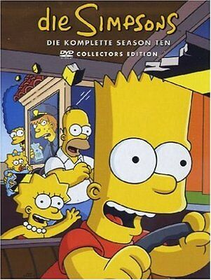 Die Simpsons  - 10 Season komplett - 4 DVD Box
