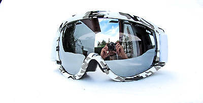 Snowboard Goggles Goggles By Ravs White / Camou