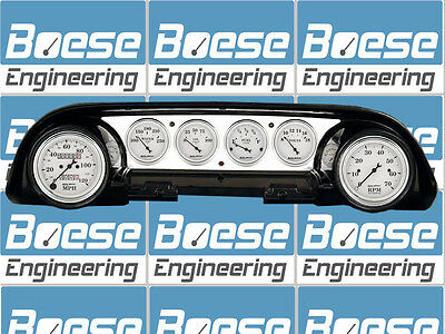 63-64 Ford Galaxie Billet Aluminum Dash Insert Gauge Panel Instrument Cluster