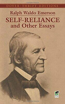 Self Reliance (Dover Thrift Editions) by Emerson, Ralph Waldo Paperback Book The