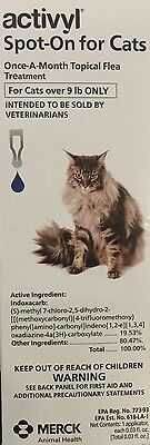 Activyl Spot on Once a Month Flea Treatment For Cats Over 9lbs Single Dose