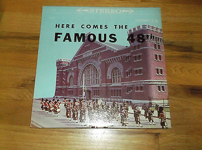 Here Comes The Famous 48 Th Piper Band Vinyl Lp Record
