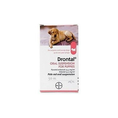 Worming Suspension for Puppies - 50 ml