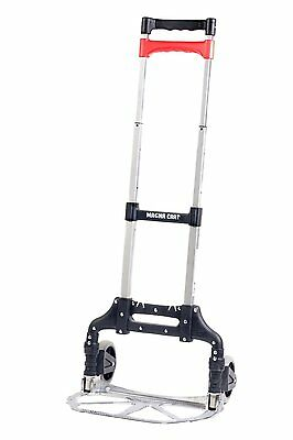 Magna Cart Personal 150 lb Capacity Aluminum Folding by Welcom Silver (MCX) NEW