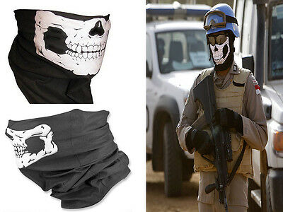 Cool Tubular Skull Ghosts Mask Bandana Motorcycle Biker Scarf Halloween