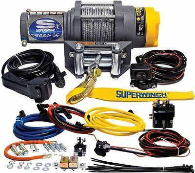 Superwinch 1135220 Terra 35 3500lbs/1591kg single line pull with roller fair NEW