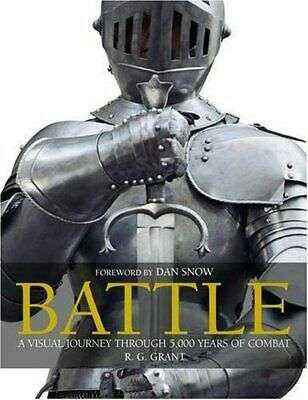 Battle: The Definitive Illustrated History by Grant, R. G. Hardback Book The