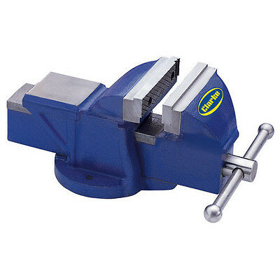 "CLARKE METALWORK FIXED BENCH VICE 5"" 125mm BLUE CV125BL"