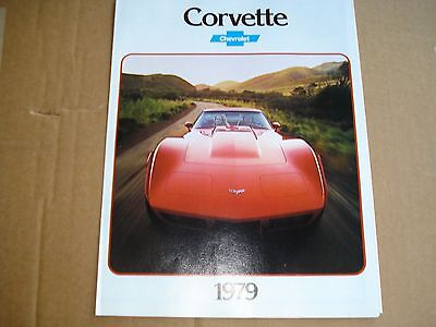 1979 Chevrolet Corvette Brand New Nos Dealer Showroom Brochure Mint Cond