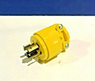 NEW PASS & SEYMOUR TURNLOK 4 Pole 5 Wire L2120P 20A 120/208V PLUG NOS