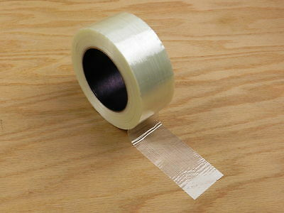 "EXTRA STRONG 2"" Fiberglass Reinforced Strapping Filament Tape 180' 60 yd"
