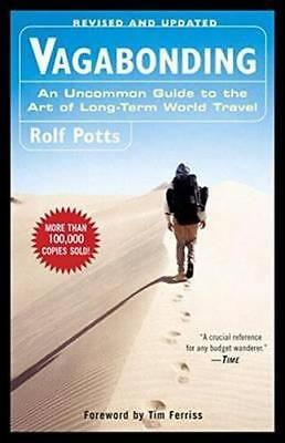 NEW Vagabonding By Rolf Potts Paperback Free Shipping