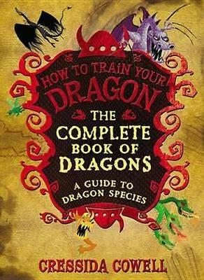 NEW The Complete Book of Dragons By Cressida Cowell Hardcover Free Shipping