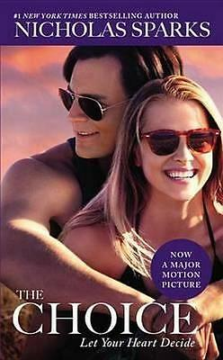 NEW The Choice By Nicholas Sparks Paperback Free Shipping