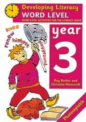 Word Level: Year 3: Word-Level Activities f... by Moorcroft, Christine Paperback