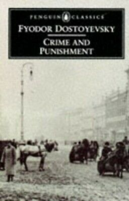 Crime and Punishment (Classics), Dostoevsky, F. M. Paperback Book The Cheap Fast
