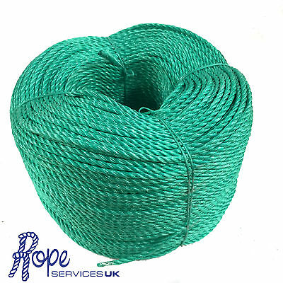 6mm x 500 mts, Green Poly Rope Coils,Polyrope,Polypropylene,Agriculture,Camping