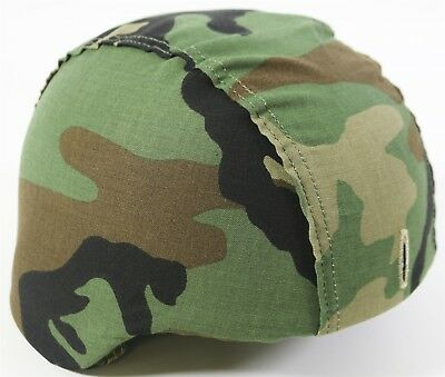 NEW London Bridge LBT-2286M Helmet Cover BDU/DCU Woodland Desert PASGT - S/M