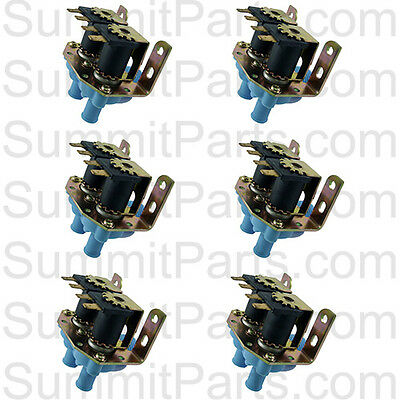 6Pk - High Quality Inlet Valve, 2-Way, 110V For Dexter Washers - 9379-183-001