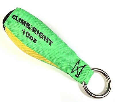 Climb Right 36010 Throw Weight 10oz Hi Viz Green Arborist Rigging Throw Bag