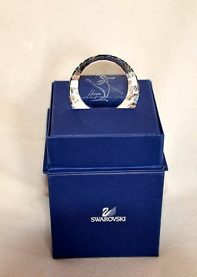 "Swarovski SCS 2004 Magic of Dance Crystal Paperweight ""Anna"" Large 60mm RETIRED"
