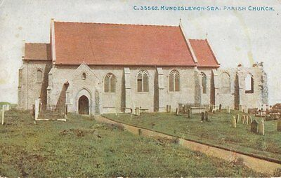 MUNDESLEY (Norfolk) :  Parish Church- PHOTOCHROM