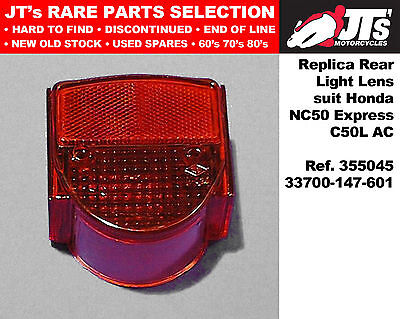 For Honda C50LAC Round Rear LH Indicator Complete