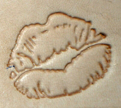 Discontinued Love Hands Craftool 3-D Stamp Tandy Leather 8592-00